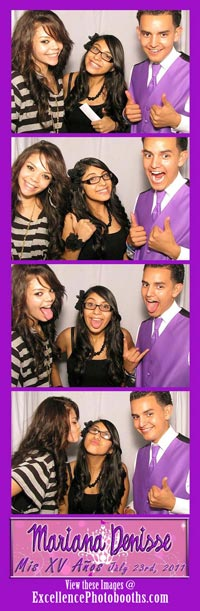 tulsa photo booth quinceanera party