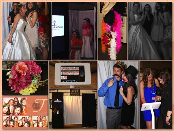 Oklahoma Jazz Hall of Fame Wedding Reception Collage
